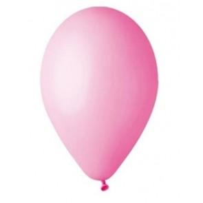 Léggömb, 26 cm, rózsaszín