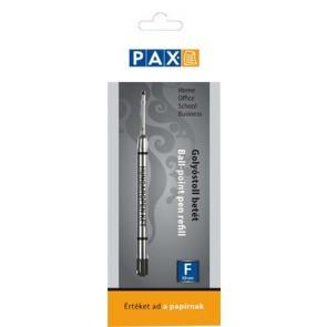 Golyóstollbetét, 0,8 mm, PAX, fekete