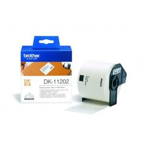 Papír címke, QL nyomtatóhoz, 62 x 100 mm, BROTHER
