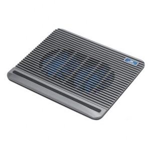 """Notebook állvány, hűtőventilátorral, 15,6"""", RIVACASE """"5555"""", ezüst"""