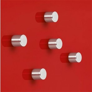 """Extra erős henger alakú mágnes, 5 db SIGEL """"SuperDym"""", ezüst"""