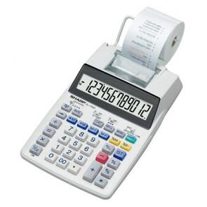 """Számológép, szalagos, 12 számjegy, 2 színű nyomtató, SHARP """"EL-1750V"""""""