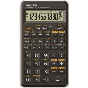 """Számológép, tudományos, 146 funkció, SHARP """"EL-501TBWH"""", fehér"""