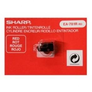 Festékhenger számológépekhez EL-1801E/C, EL2195L, EL-2901E/C típusokhoz, SHARP, piros