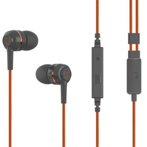 """Fülhallgató, mikrofon, SOUNDMAGIC """"ES18S"""", szürke-narancs"""