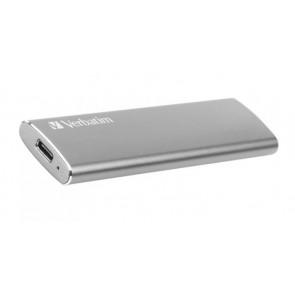 "SSD (külső memória) 120 GB, USB 3.1, VERBATIM ""Vx500"", szürke"