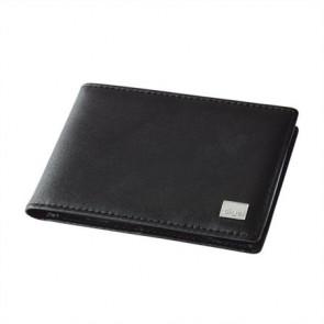 """Névjegy- és bankkártya tartó, bőr, 40 db-os, SIGEL """"Torino"""", fekete"""