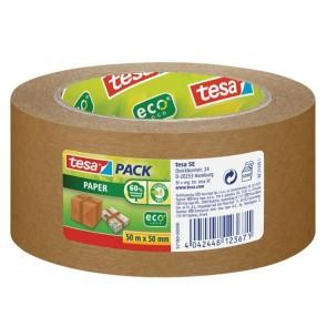 """Csomagolószalag, papír, 50 mm x 50 m, TESA """"tesapack®"""" barna"""