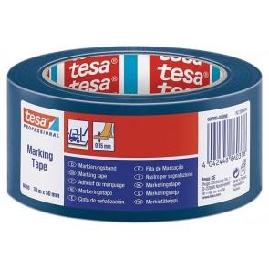 """Jelölőszalag, 50 mm x 33 m, TESA """"Professional"""", kék"""