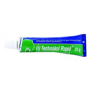 """Ragasztó, folyékony, 35 g, TECHNOKOL """"Rapid"""", zöld"""