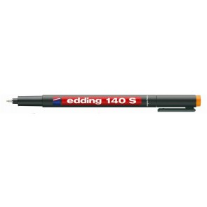 """Alkoholos marker, OHP, 0,3 mm, EDDING """"140 S"""", narancssárga"""