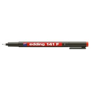 "Alkoholos marker, OHP, 0,6 mm, EDDING ""141 F"", piros"