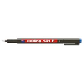 "Alkoholos marker, OHP, 0,6 mm, EDDING ""141 F"", kék"