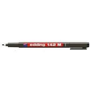 "Alkoholos marker, OHP, 1 mm, EDDING ""142 M"", fekete"