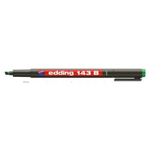 "Alkoholos marker, OHP, 1 mm, EDDING ""143 B"", zöld"