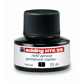 """Utántöltő alkoholos markerhez, EDDING """"MTK 25"""", fekete"""