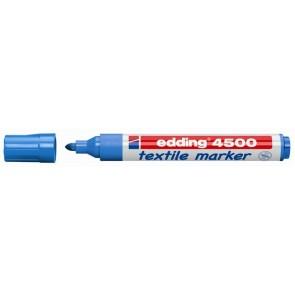 """Textilmarker, 2-3 mm, kúpos, EDDING """"4500"""", világoskék"""