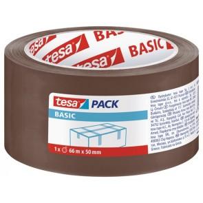 "Csomagolószalag, 50 mm x 66 m, TESA ""Basic"", barna"