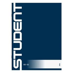 """Füzet, tűzött, A4, sima, 32 lap, ICO """"Student"""""""
