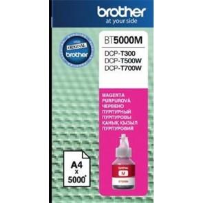 BT5000M Tinta DCP T-300, 500W, 700W nyomtatókhoz, BROTHER, magenta, 5k