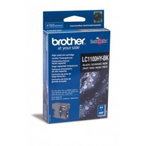 LC1100HYB Tintapatron DCP 6690CW nyomtatóhoz, BROTHER, fekete, 900 oldal