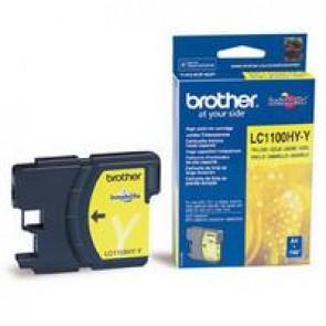 LC1100HYY Tintapatron DCP 6690CW nyomtatóhoz, BROTHER sárga, 750 oldal