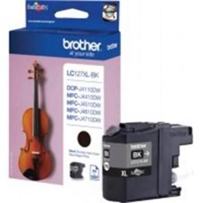 LC127XLB Tintapatron DCP-J4110DW, MFC-J4410DW nyomtatókhoz, BROTHER, fekete, 2*1200 oldal