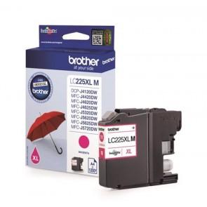 LC225XLM Tintapatron MFC-J4420DW, MFC-J4620DW nyomtatókhoz, BROTHER, magenta, 1200 oldal