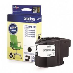 LC229XLB Tintapatron MFC-J5320DW, MFC-J5620DW nyomtatókhoz, BROTHER, fekete, 2400 oldal