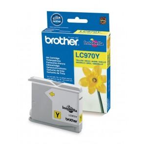 LC970Y Tintapatron DCP 135C, 150C, MFC235C nyomtatókhoz, BROTHER sárga, 300 oldal