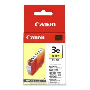 BCI-3Y Tintapatron BJC-3000, i550 nyomtatókhoz, CANON sárga, 13ml