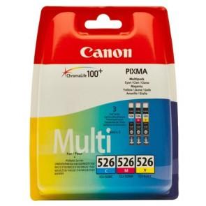 CLI-526KIT Tintapatron multipack Pixma iP4850, MG5150, 5250 nyomtatókhoz, CANON, c+m+y