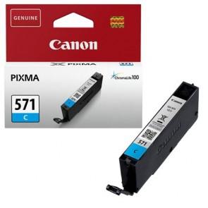 CLI-571C Tintapatron Pixma MG5750, 6850,7750 nyomtatókhoz, CANON kék, 7 ml