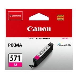 CLI-571M Tintapatron Pixma MG5750, 6850,7750 nyomtatókhoz, CANON, magenta, 7 ml