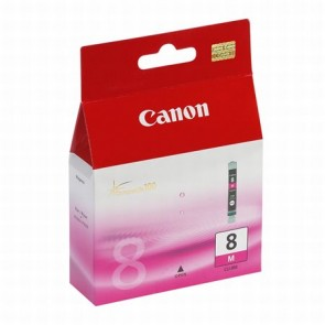 CLI-8M Tintapatron Pixma iP3500, 4200, 4300 nyomtatókhoz, CANON, magenta, 13ml