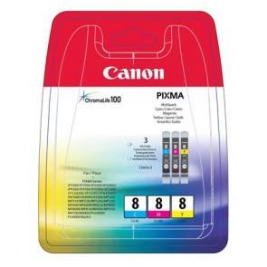 CLI-8KIT Tintapatron multipack Pixma iP3500, 4200 nyomtatókhoz, CANON, c+m+y, 3*13ml