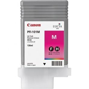 PFI-101M Tintapatron iPF5100, 6100 nyomtatóhoz, CANON vörös, 130ml
