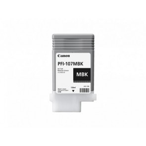 PFI-107MB Tintapatron iPF780, 770 nyomtatóhoz, CANON matt fekete, 130ml