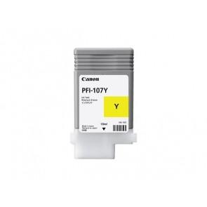 PFI-107Y Tintapatron iPF780, 770 nyomtatóhoz, CANON sárga, 130ml