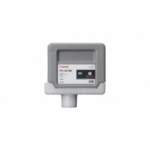 PFI-301B Fotópatron iPF9000S nyomtatóhoz, CANON fekete, 330ml