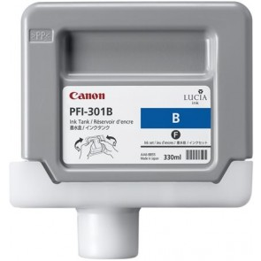 PFI-301BL Tintapatron iPF8000S nyomtatóhoz, CANON blue, 330ml