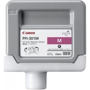 PFI-301M Tintapatron iPF8000S, 9000S nyomtatókhoz, CANON vörös, 330ml