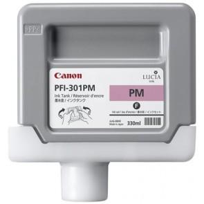 PFI-301PM Fotópatron iPF8000S, 9000S nyomtatókhoz, CANON vörös, 330ml