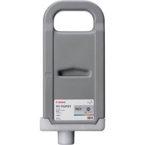 PFI-702PGY Fotópatron iPF8100, 9100 nyomtatóhoz, CANON szürke, 700ml