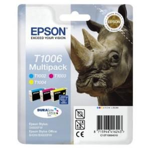 T10064010 Tintapatron multipack Stylus SX600FW nyomtatóhoz, EPSON c+m+y, 33,3ml