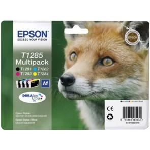 T12854010 Tintapatron multipack Stylus S22, SX125 nyomtatókhoz, EPSON b+c+m+y, 16,4ml
