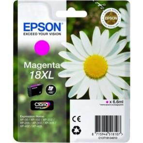 T18134010 Tintapatron XP 30, 102, 202, 205 nyomtatókhoz, EPSON, magenta, 6,6ml