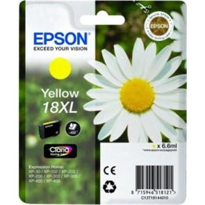 T18144010 Tintapatron XP 30, 102, 202, 205 nyomtatókhoz, EPSON, sárga, 6,6ml