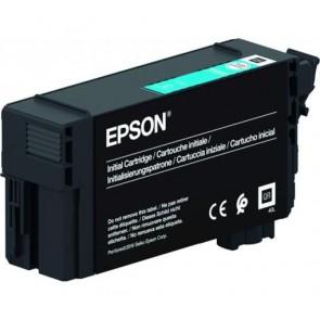 T40C240 Tintapatron  SC-T3100, T5100, T3100N, T5100N nyomtatókhoz, UltraChrome XD2, EPSON, cián, 26 ml
