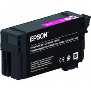 T40C340 Tintapatron, SC-T3100, T5100, T3100N, T5100N nyomtatókhoz, UltraChrome XD2, EPSON, magenta, 26 ml